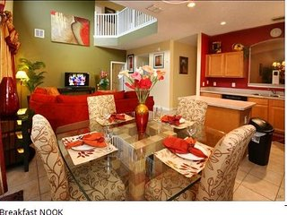 1520SC. 6 Bedroom Solana Resort Pool Home In DAVENPORT FL.