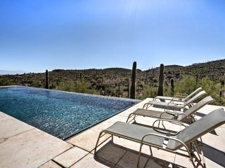 NEW! 3BR Tucson Home w/ Pool Overlooking Saguaro!