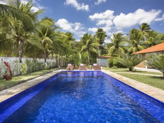 Cea001-Beach house with swimming pool and garden in the paradise of Kite Surfing