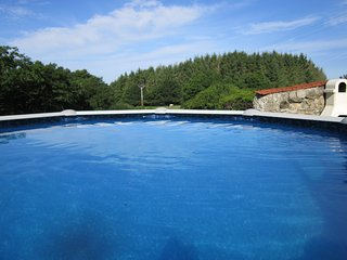 Kerscanvic Cottages,Outdoor heated swimming pool, barbeque area large gardens