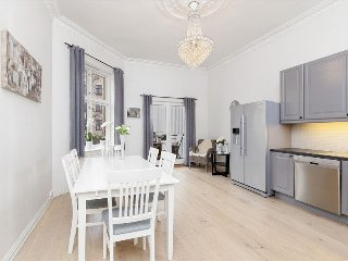 88 Squaremeter apart. cent. loc. in Oslo with balcony,4min walk to royal castle
