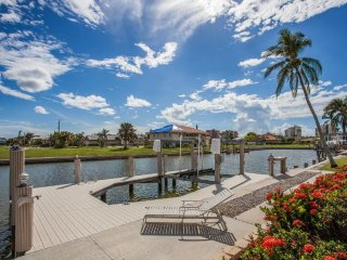 Stunning WALK TO THE BEACH Waterfront Pool Home