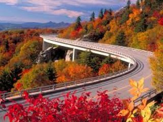 The Blue Ridge Parkway - only minutes away from the Cozy Cottage!