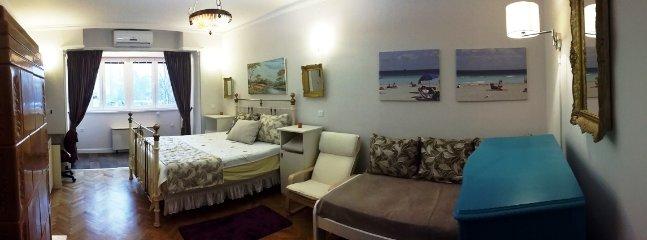 Schlaf- / Wohnzimmer mit allem Komfort von 4-Sterne-Hotel
