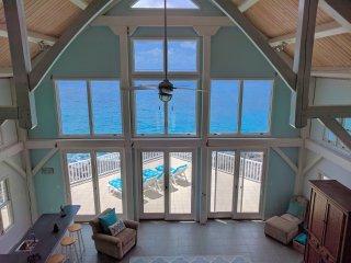 3 Bedroom Ocean Front - Salt Rocks Private Villa - Little Cayman