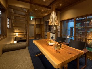 NEW!! 7min WALK to KIYOMIZU TEMPLE! WiFi x 2 Toilets x Dining Table