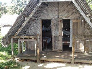 Bungalows Manaos bord de plage + magnifique jardin arbore