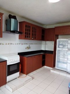 three bedroom  furnished  apartment