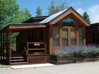 Cozy 'Modular' Style 1 BR with Sleeping Loft Cabin at Three Rivers Resort in Almont (#36)