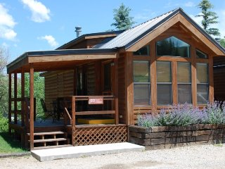 Cozy 'Modular' Style 1 BR with Sleeping Loft Cabin at Three Rivers Resort in Almont (#33)
