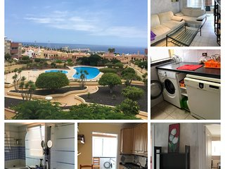 2-bedroom apartment, barbecue, private terrace, pool, tennis court