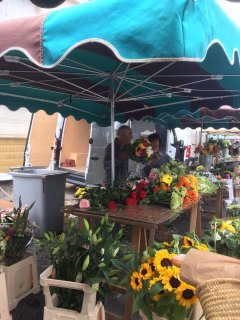 Market at St Jean D'Angely