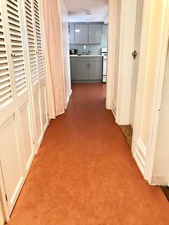 Hallway to kitchen and Bedrooms