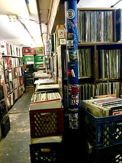 The Thing  popular vinyl shop in Greenpoint