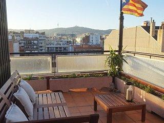 Double room. Plaza España. Terrace (Wifi)