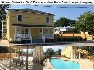 Historic Downtown - Pool - Immaculately kept - Accomodates 4