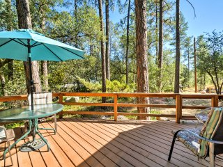 New! 2BR 'Baby Bear Cabin' in Prescott National Forest!