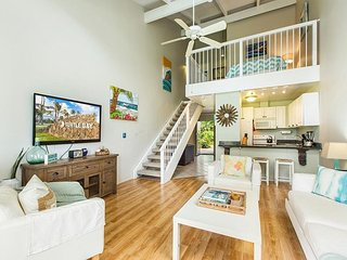 Two bedroom plus loft on Oahu's north shore.