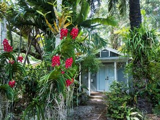 Tropical Bungalow in Coconut Grove near Nightlife, Dining & Shopping w/parking