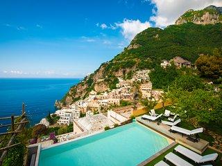 Luxury villa Mimosa Amalfi Coast Positano
