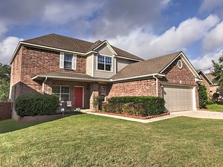 Spacious San Antonio Home w/Game Room & Backyard!
