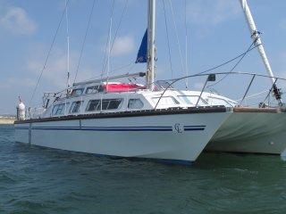 catamaran 41 pieds a saint anne au sud de la martinique