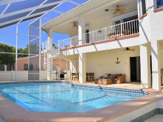 O Say Can You Sea: Canal-Front Home W/ Private Pool, Boat Dock, & Elevator!