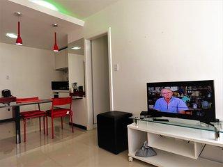 Apart Hotel na Barra bem localizado 701