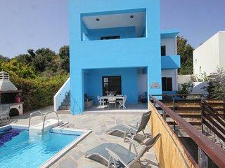 Villa Alexandra- An open peaceful villa, presiding at the top of the hill.