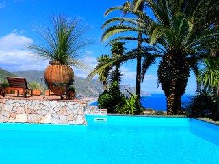 VILLA LOU SEA VIEW APARTMENT  Pool Terrace Taormina