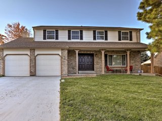 New! 5BR Centennial House w/Covered Patio & Yard!