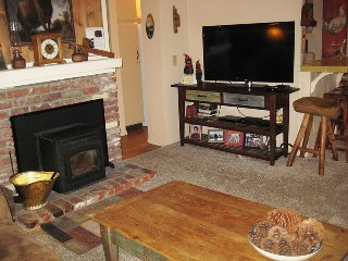 Living Room and Flat Screen TV