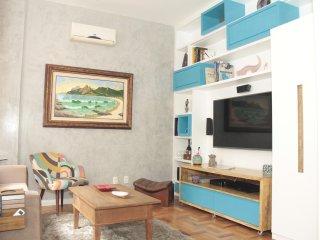 Excelente 3 quartos em Copacabana - Metro e praia! Siqueira