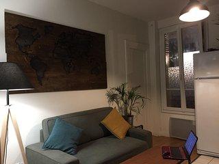 Appartement parisien dans quartier calme