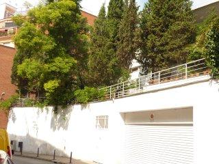Casa Vilaró Park Guell. grupos y familias piscina un oasis en la ciudad