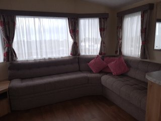 Caravan rental in Brean -  Beachside Holiday Park. SEA VIEWS, BEACH ACCESS