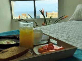 Apartamento  Con bella vista al Mar