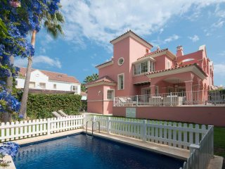 Beach front villa between Puerto Banus & San Pedro walk to beach and restaurants