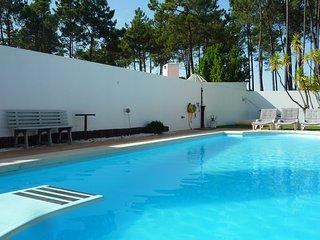 Villa, salt water pool, 5 min beaches and 20 min Lisbon