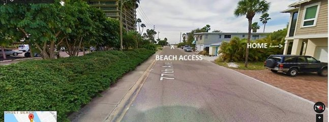 street view to beach