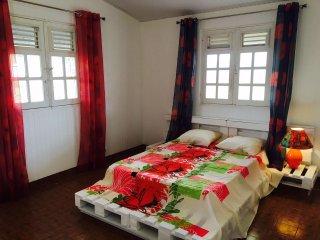 Appartement deux pièces au Morne-Rouge, près de la Montagne Pelée