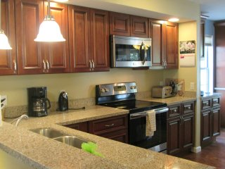 New cabinets, new granite counters, new appliances, new flooring... Yep. A new kitchen!