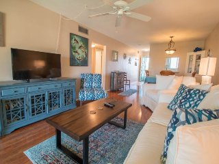 Gulf Claridge #303 | Cozy condo only a block from the beach!