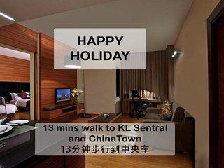 R2 ~13min walk:Little India&KL Sentral13分钟步行到中央车站