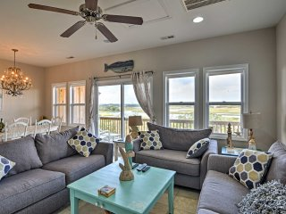 NEW! 5BR Surf City Townhome - Walk to Beach!