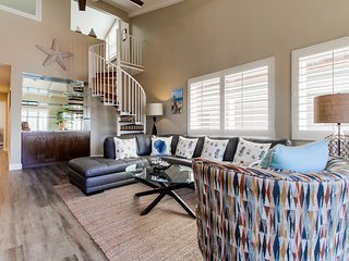 Very comfortable seating in living room