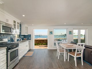 Kitchen/ Dining area with breathtaking bay views