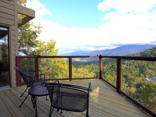 Beautiful views overlooking Ober Gatlinburg