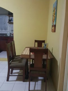 Table with seating for 4 persons in your rental.