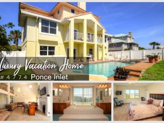 Luxury Home - Steps To The Ocean - 4BR/3BA- #4774